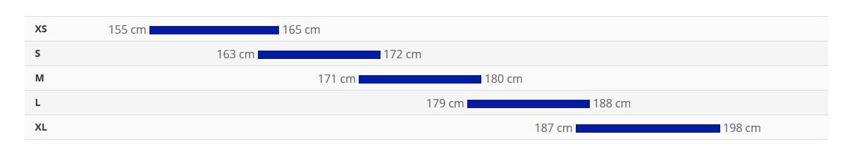جدول سایز دوچرخه talon 2 2020