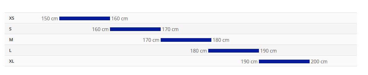 جدول سایز دوچرخه escape 3 2021 2021